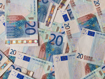 Euro notes Stock Images