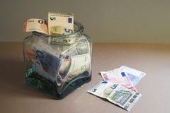 Euro notes Royalty Free Stock Photos