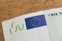 100 euro notes - Image stock image