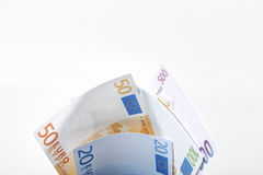 Euro Notes. Royalty Free Stock Image