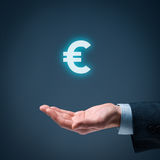 Euro offer Stock Images