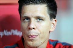 EURO 2016 określników Polska vs Gibraltar Fotografia Royalty Free