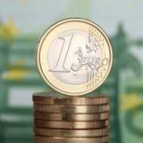1 Euro Stock Photo