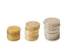 Euro- pódio Imagem de Stock Royalty Free