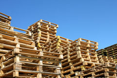 Euro pallet Stock Photography
