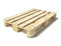Euro pallet Royalty Free Stock Photo