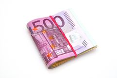 Euro paper money . Stock Photography