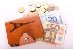 Euro, Paris Images libres de droits