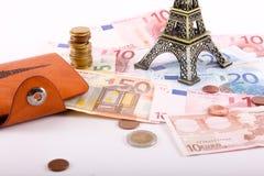 Euro, Paris Photos libres de droits