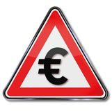Euro, pengar och valuta Royaltyfri Foto