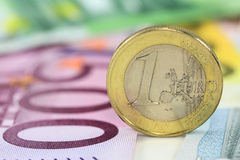 Euro pièce de monnaie Photo stock