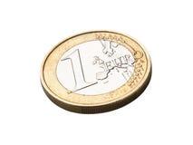 Euro pièce de monnaie Images stock