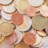 Euro pièce de monnaie Photographie stock libre de droits