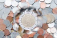 Euro pièce de monnaie Photographie stock
