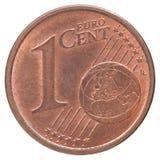 Euro pièce de monnaie de cent Photo stock