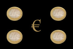 Euro images libres de droits