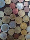 Euro pièces de monnaie, Union européenne Images stock