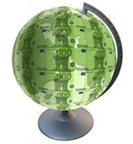 Euro pianeta Immagine Stock Libera da Diritti