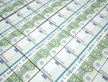 100 euro pieniądze tło Fotografia Stock