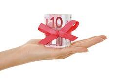 euro pieniądze teraźniejszość Zdjęcie Stock
