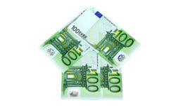 Euro pijl stock afbeeldingen