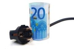 Euro Plug Stock Photo