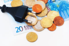 Euro Plug Royalty Free Stock Photo