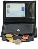 Euro pochette Photos stock