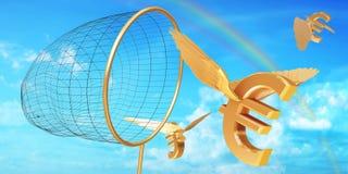 euro polowanie Obraz Stock