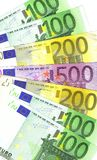 Euro- potência Imagem de Stock Royalty Free