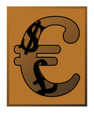 Euro Pound Dollar Sign. A currency design with pound, dollar and euro signs isolated on a white background Stock Images