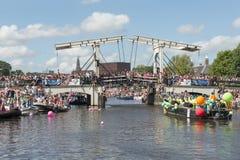 Euro Pride Amsterdam 2016 arkivbilder