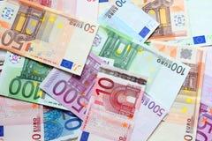 Euro priorità bassa Fotografie Stock Libere da Diritti