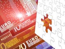 Euro Puzzle Royalty Free Stock Image