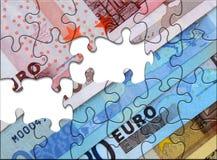 euro puzzle Image libre de droits