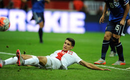 EURO 2016 Qualifiers Poland vs Gibraltar Royalty Free Stock Image