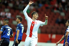 EURO 2016 Qualifiers Poland vs Gibraltar Royalty Free Stock Photography