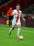 EURO 2016 Qualifiers Poland vs Gibraltar Royalty Free Stock Photos