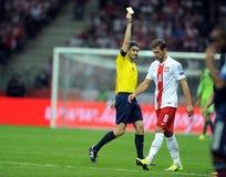 Euro 2016 qualifies Polnad-Scotland Stock Image
