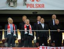 Euro 2016 qualifies Polnad-Scotland Stock Images