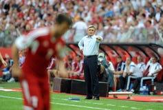 EURO 2016 qualify Poland vs Georgia Royalty Free Stock Image