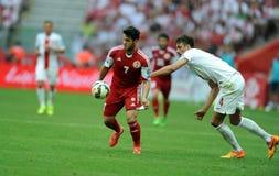 EURO 2016 qualify Poland vs Georgia Stock Photos