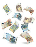 Euro- queda Fotografia de Stock Royalty Free