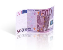 Euro quinientos Fotos de archivo libres de regalías
