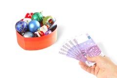 euro ręka Obrazy Stock