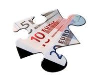 Euro raadsel Stock Foto