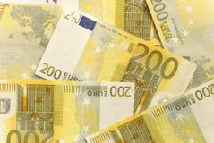 Euro rachunki - 200 Obrazy Stock