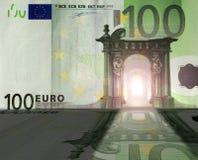 Euro- reino foto de stock