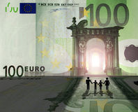 Euro- reino ilustração do vetor