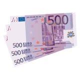 500 euro rekeningen vector illustratie